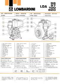 lombardini lda 97 manuale dispositivo arresto motori  manual motor lombardini lda 96